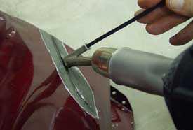 Сварка пластика (ремонт пластмассовых деталей автомобиля)