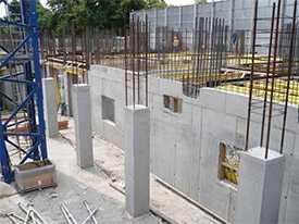 Устройство монолитных и монтаж сборных бетонных и железобетонных конструкций