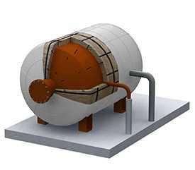 Теплоизоляция промышленных печей
