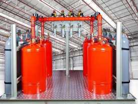 Проектирование установок автоматического газового пожаротушения