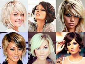 Женские стрижки на среднюю длину волос