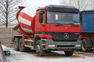 Услуги автобетоносмесителя 6 м³