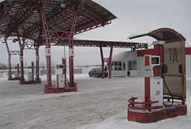 Демонтаж топливно раздаточных колонок
