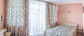 Проживание в двухместном однокомнатном номере ПК Double Гостиница Сож