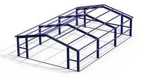 3D моделирование металлоконструкции