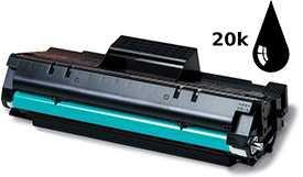 Заправка черно-белых лазерных картриджей (повышенной емкости)