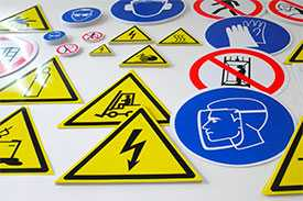 Производство знаков безопасности