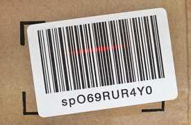Печать самоклеящихся штрих-кодов