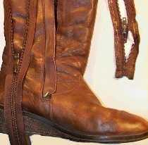 Замена застежки 'молния' в обуви