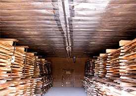 Сушка древесины, пиломатериалов