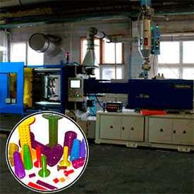 Услуги по литью под давлением изделий из полимерных материалов