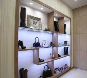 Изготовление мебели для магазинов обуви