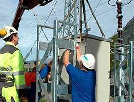Монтаж электротехнического оборудования трансформаторных и распределительных подстанций
