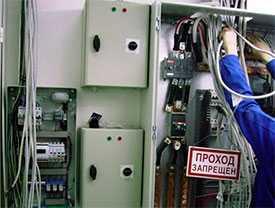 Монтаж устройств внутренних сетей электроснабжения и электроосвещения