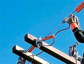 Монтаж наружных сетей электроснабжения