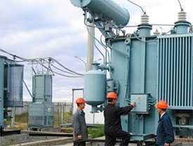 Наладка электротехнического оборудования трансформаторных и распределительных подстанций 10/0,4 кВт;
