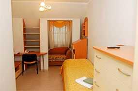 Проживание в одноместном однокомнатном номере Отель Митрополичья Гостиная