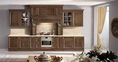 Изготовление мебели для кухни из массива