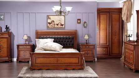 Изготовление мебели для спальни из массива