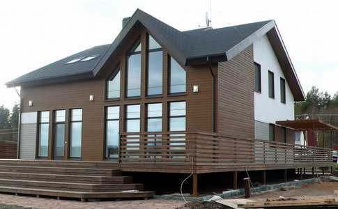 Строительство быстровозводимых зданий с применением панелей из термопрофилей