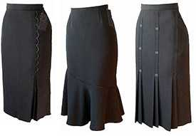 Пошив юбок большого размера