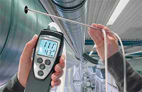 Аэродинамические испытания систем вентиляции и кондиционирования воздуха