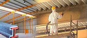 Огнезащитная обработка (огнезащита) конструкций из металла