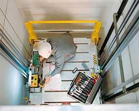 Монтаж пассажирских лифтов