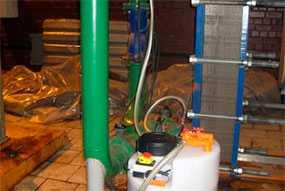 Промывка системы отопления методом безразборной химической промывки