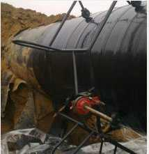 Нанесение изоляционного покрытия на трубопровод