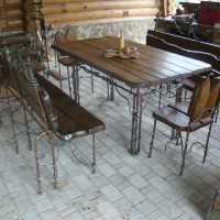 Изготовление кованной мебели