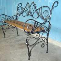 Изготовление кованных лавок и скамеек