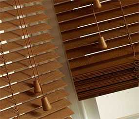 Изготовление на заказ жалюзи деревянные