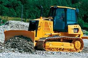 Аренда Бульдозера CAT D6 на болотном ходу вес 24,5т ширина отвала 4м
