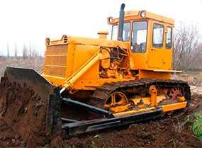 Аренда Бульдозера Т-170 вес 17т ширина отвала 3,2м