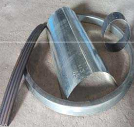 Гибка (вальцовка) деталей из листа, профильной (квадратной, прямоугольной) трубы на гидравлической четырехвалковой машине МН210В с ЧПУ фирмы МG (Италия)