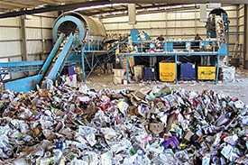 Переработка твердых коммунальных отходов