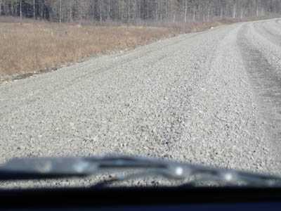 Ремонт гравийных покрытий автодорог