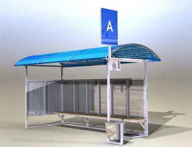 Устройство автобусных остановок