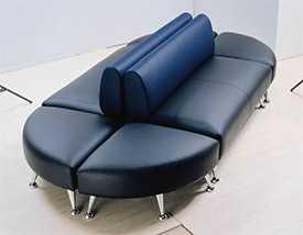 Перетяжка мебели в общественных местах