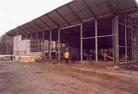 Строительство выставочных павильонов