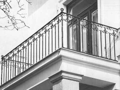 Изготовление кованых балконов