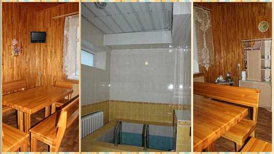 Услуга сауны при гостинице «Двина» Полоцк