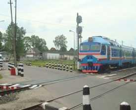 Монтаж железнодорожных переездов