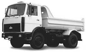 Аренда самосвала МАЗ 5551 А2 10 тонн