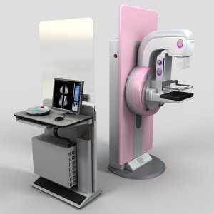 Обзорная рентгенография молочных желез в двух проекциях