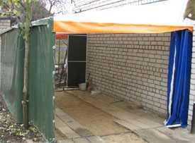 Изготовление гаражей и подсобных помещений из тентовой ткани