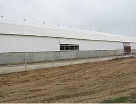 Пошив тентовых штор для цехов, складов и других помещений