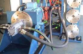 Проведение испытаний гидрооборудования