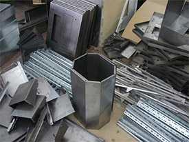 Изготовление металлических изделий, деталей, конструкций